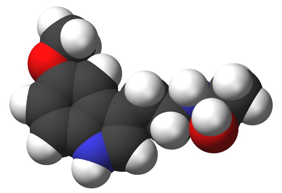 Melatonin-3d-CPK